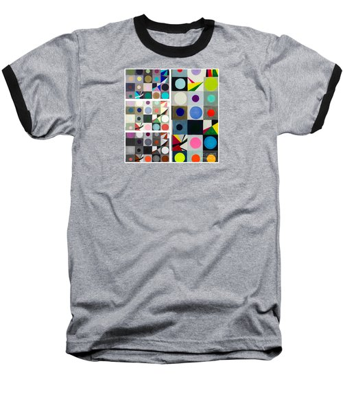 Mod Party Baseball T-Shirt