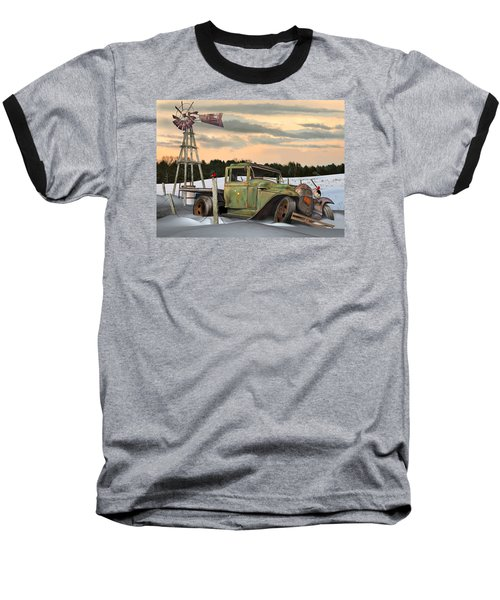 Model A Flatbed Baseball T-Shirt by Stuart Swartz