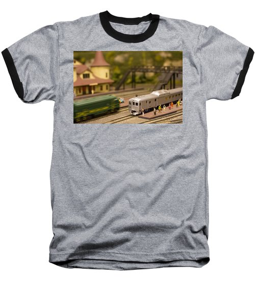 Model Trains Baseball T-Shirt