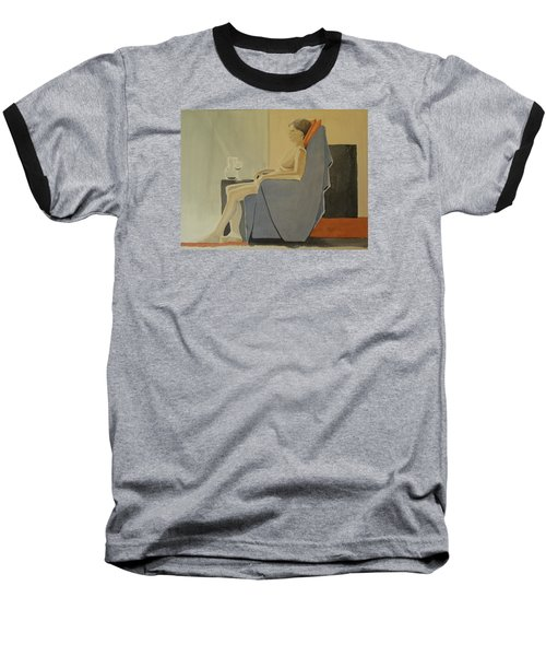 Modell Akvarell 2013 06 15-16 133 Baseball T-Shirt