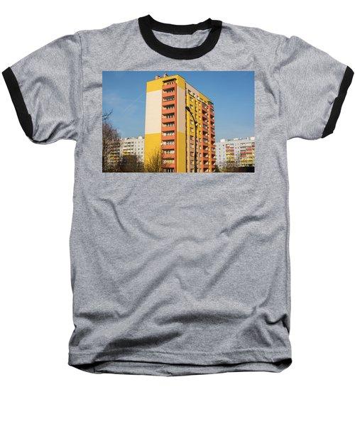 Baseball T-Shirt featuring the photograph Modern Apartment Buildings by Juli Scalzi