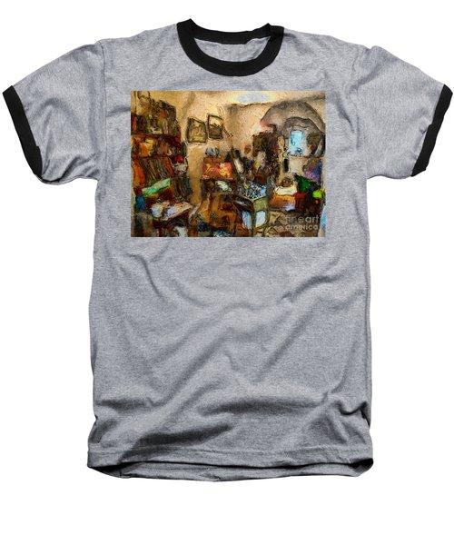 Modern Art Studio Baseball T-Shirt