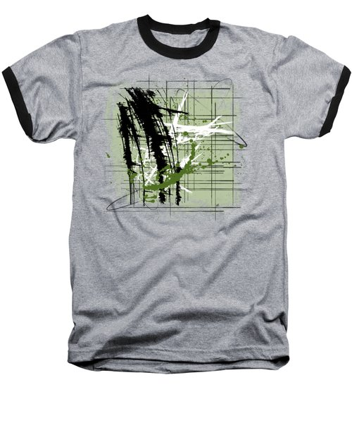Modern Green Baseball T-Shirt