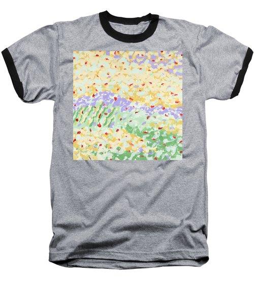 Modern Landscape Painting 3 Baseball T-Shirt by Gordon Punt