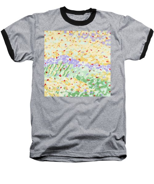 Modern Landscape Painting 3 Baseball T-Shirt