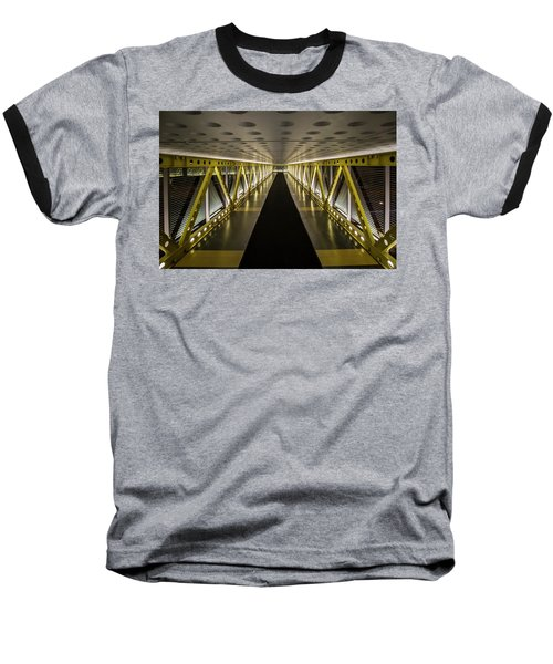 modern looking pedway in Chicago Baseball T-Shirt