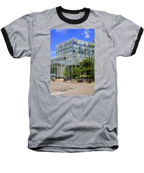 Modern Madison Baseball T-Shirt