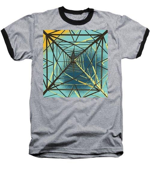 Modern Pyramid Baseball T-Shirt
