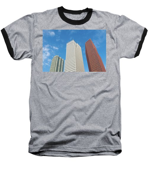 Baseball T-Shirt featuring the photograph Modern Skyscrapers by Hans Engbers