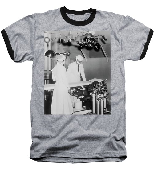 Baseball T-Shirt featuring the photograph Modern Surgery by Daniel Hagerman