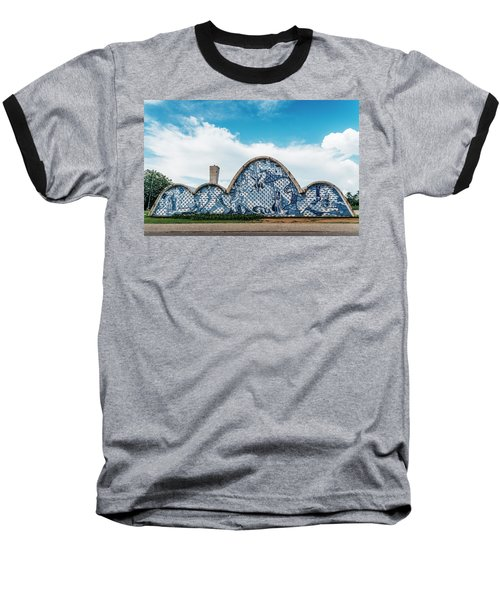 Modernist Church Of Sao Francisco De Assis In Belo Horizonte, Brazil Baseball T-Shirt