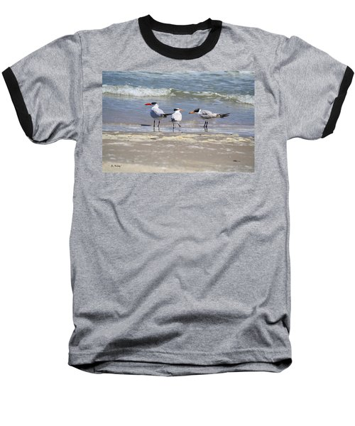Moe And Larry And Curlie Baseball T-Shirt