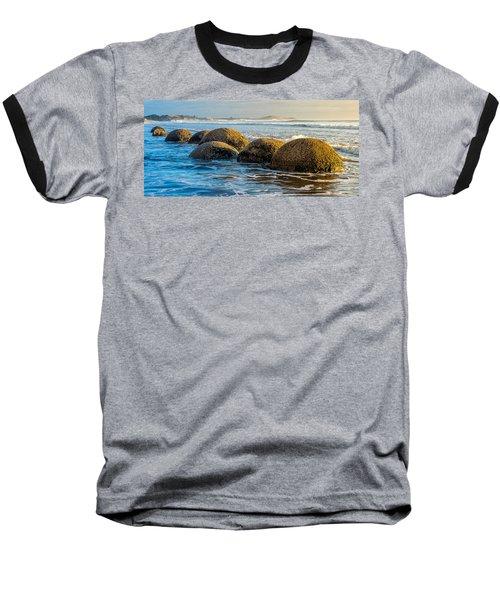 Moeraki Boulders Baseball T-Shirt