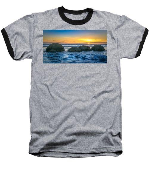 Moeraki Sunrise Baseball T-Shirt