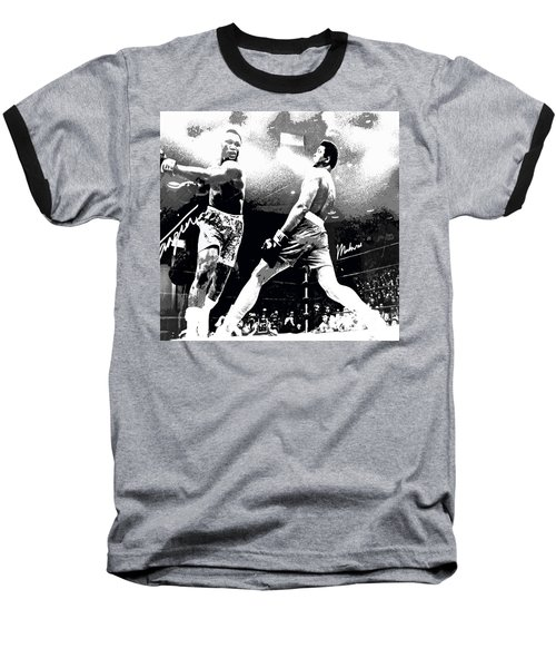 Mohamed Ali Float Like A Butterfly Baseball T-Shirt