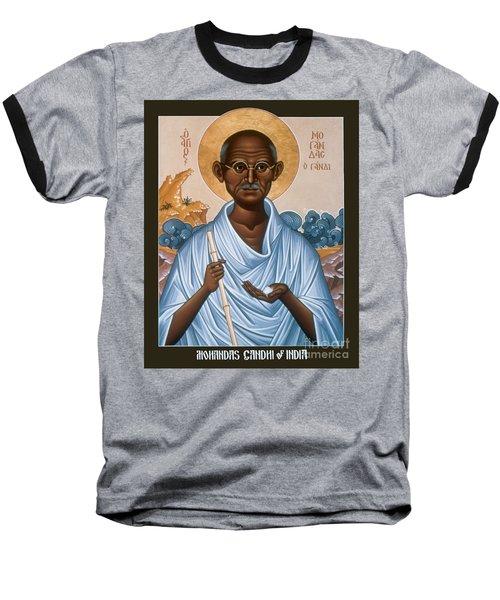 Mohandas Gandhi - Rlmog Baseball T-Shirt