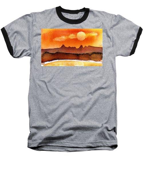 Mohavae Moon Baseball T-Shirt