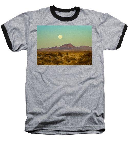 Mohave Desert Moon Baseball T-Shirt