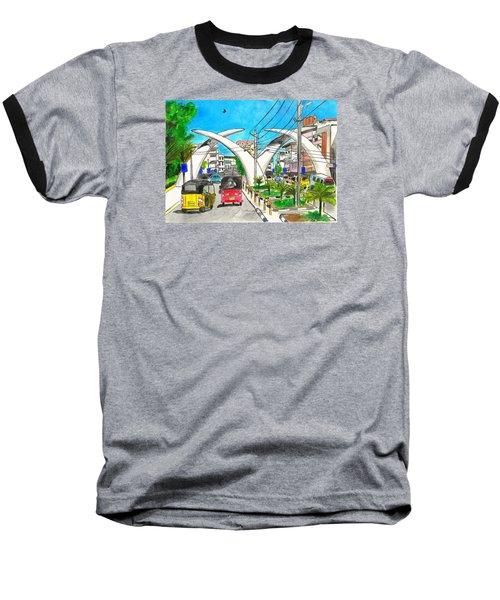 Moi Ave, Mombasa Tusks  Baseball T-Shirt