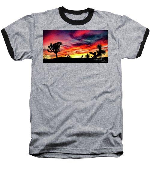 Mojave Sunset Baseball T-Shirt