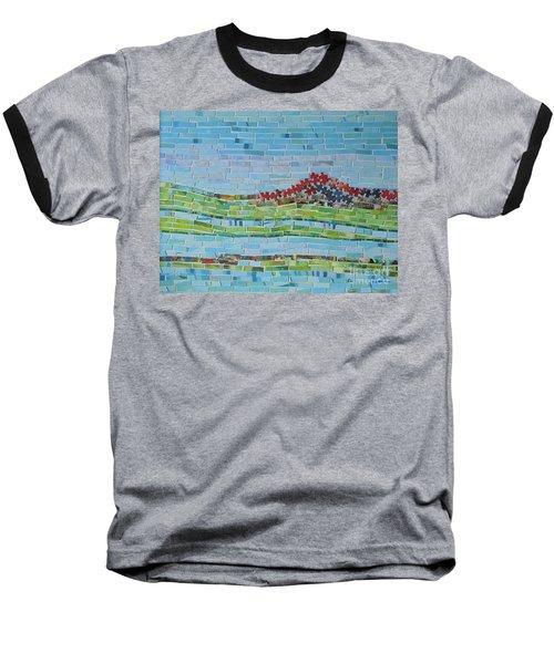 Mole Hill Reborn Baseball T-Shirt by Judith Espinoza