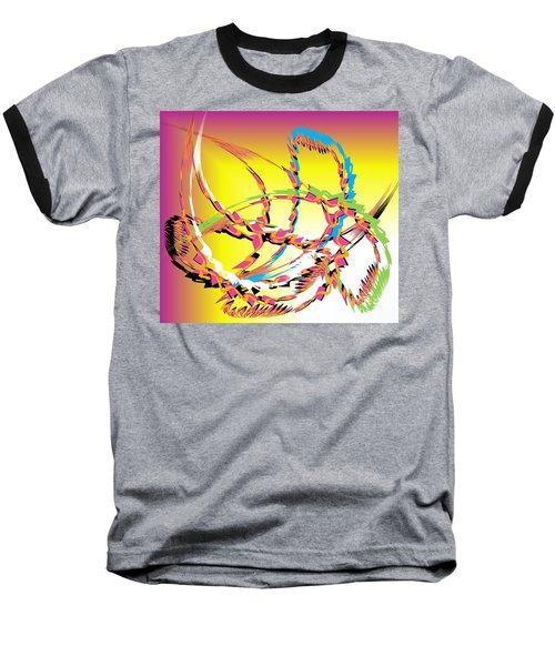 Molecular Energy Baseball T-Shirt by Belinda Threeths