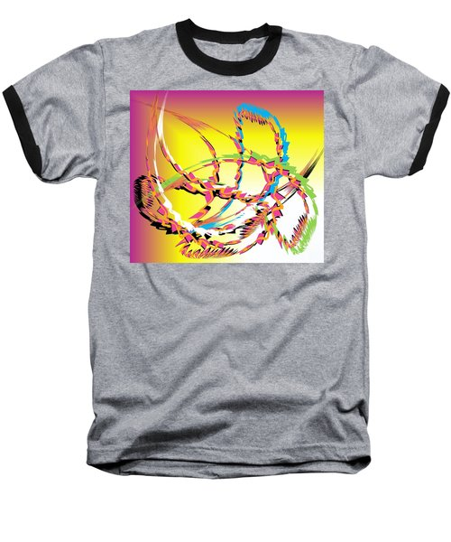 Molecular Energy Baseball T-Shirt