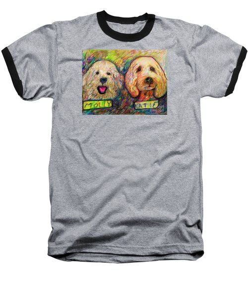 Molly And Katie Baseball T-Shirt