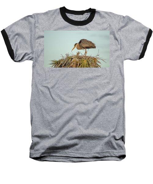 Mom And Chick Baseball T-Shirt
