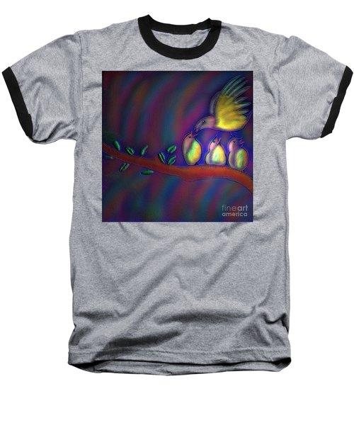 Mom Baseball T-Shirt by Latha Gokuldas Panicker