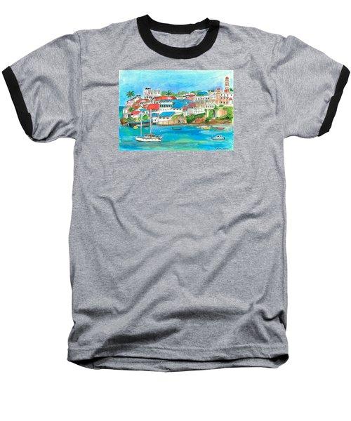 Mombasa Town Baseball T-Shirt