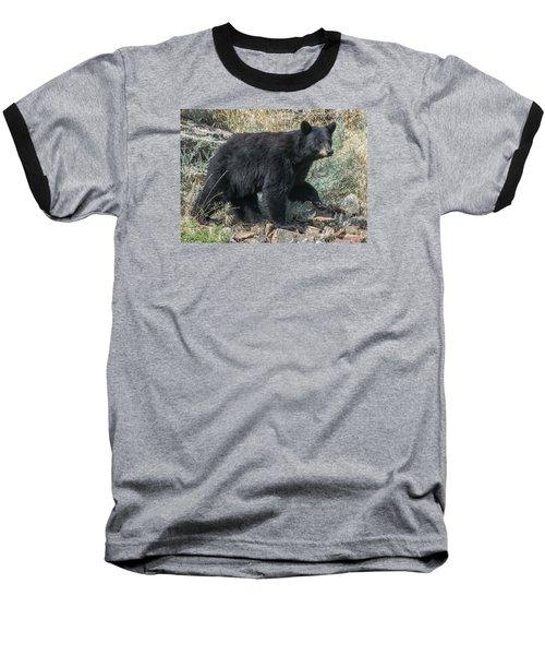 Momma Bear Walking Baseball T-Shirt