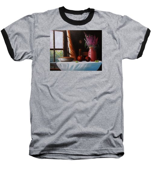 Mom's Apple Pie  Baseball T-Shirt by Gene Gregory