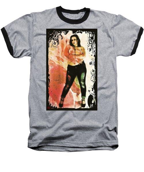 Mona 2 Baseball T-Shirt