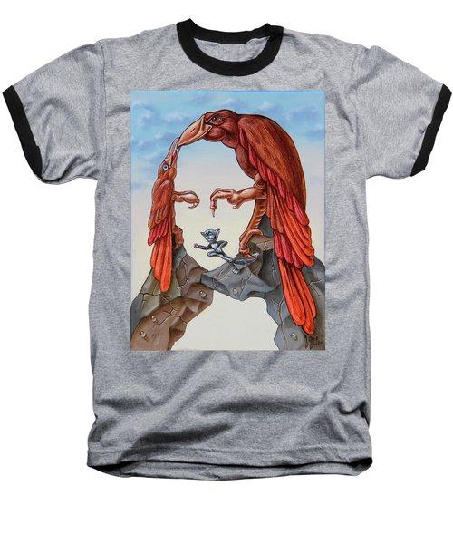 Mona Lisa. Air. Baseball T-Shirt