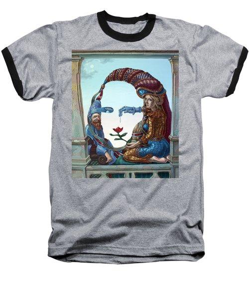 Mona Lisa. Love Baseball T-Shirt