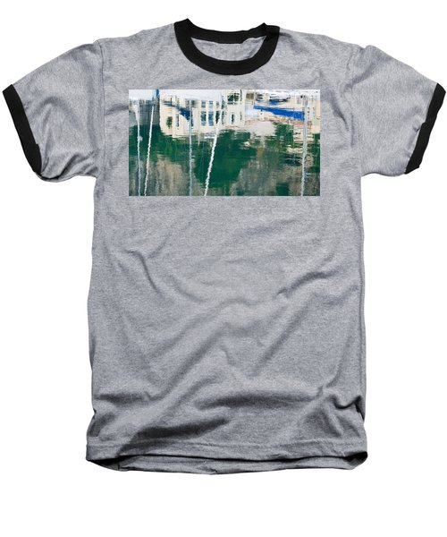 Baseball T-Shirt featuring the photograph Monaco Reflection by Keith Armstrong