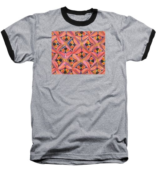 Baseball T-Shirt featuring the drawing Monarch by Kim Sy Ok