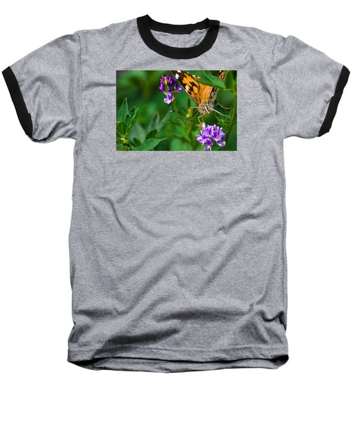 Monarch Baseball T-Shirt by Marlo Horne