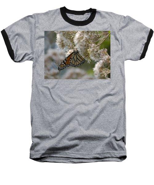 Monarch Pink Baseball T-Shirt