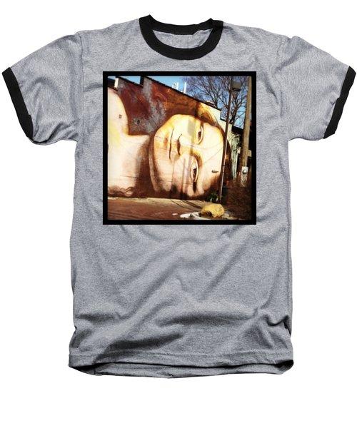Mona's Facial Expression Baseball T-Shirt