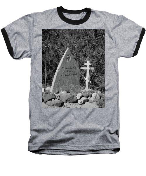 Monasterio Del Santo Arcangel Miguel Baseball T-Shirt