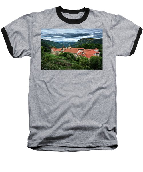 Monastery Of Santo Estevo De Ribas Del Sil Baseball T-Shirt