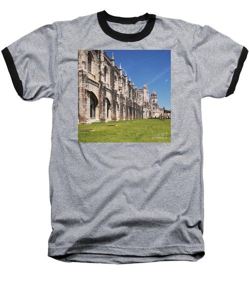 Monastery Of The Hieronymites Lisbon 3 Baseball T-Shirt