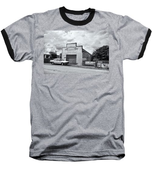 Baseball T-Shirt featuring the photograph Monegeetta Produce Store by Linda Lees