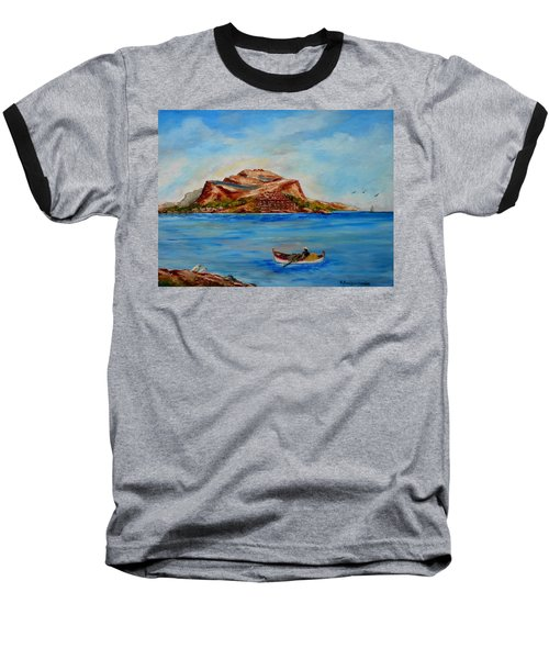 Monemvasia Baseball T-Shirt