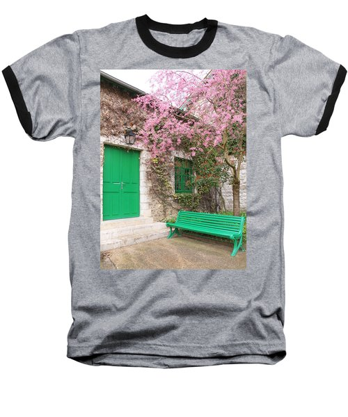 Monet's Bench Baseball T-Shirt