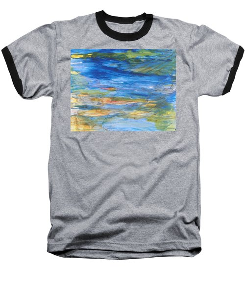 Monet's Pond Baseball T-Shirt