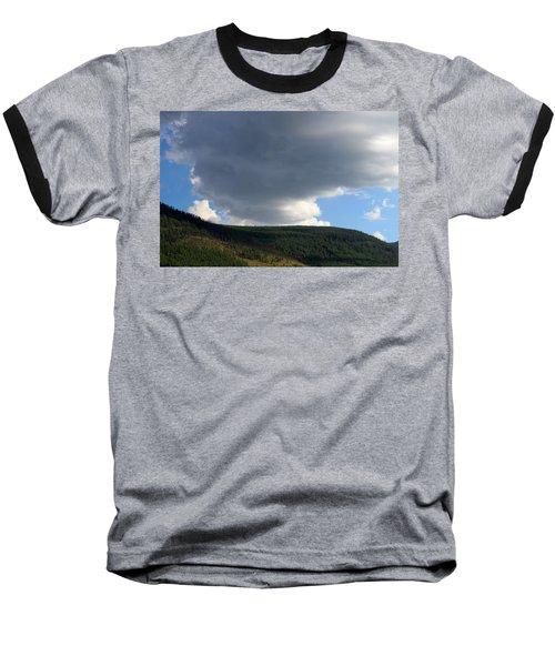 Mongolian Sky Baseball T-Shirt