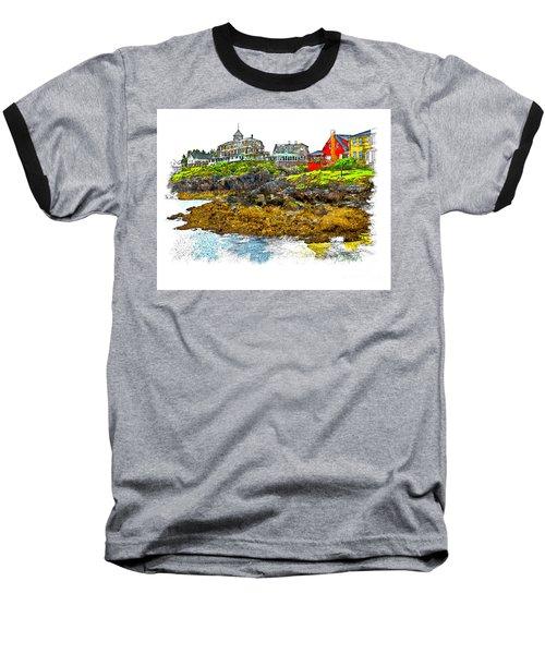 Monhegan West Shore Baseball T-Shirt